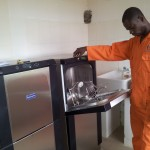 Installation and Test Running of Automated Bed-Pan Washer at Trauma Centre, Ondo